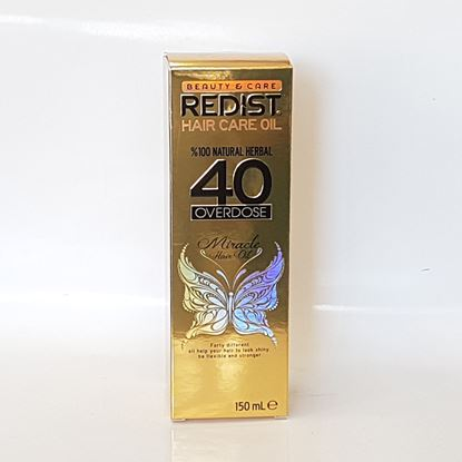 Redist Hair Care Oil 40 Overdose 150 ml resmi