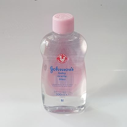 Johnson's Baby Aceite Aleo 300ml resmi