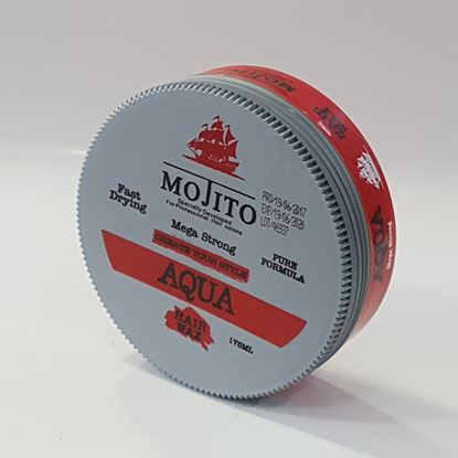 Mojito Aqua Hair Wax Mega Strong resmi